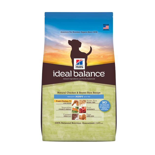 Hill's Ideal Balance Puppy cane pollo fresco e riso integrale